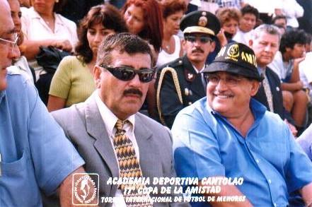Alcalde de Lima en la Copa de la Amistad
