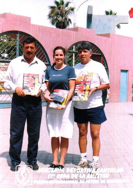 Representantes de la Gothia Cup en Peru
